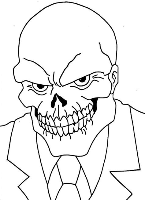 coloring pages of red skull red skull coloring page image clipart images grig3 org