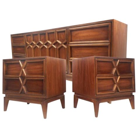 mid century modern bedroom set mid century modern bedroom set by american of martinsville