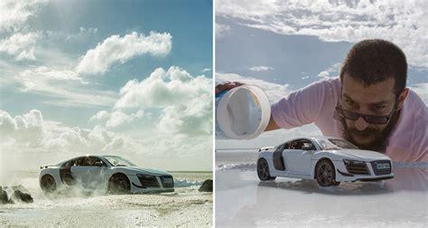audi hires photographer  shoot   sports car