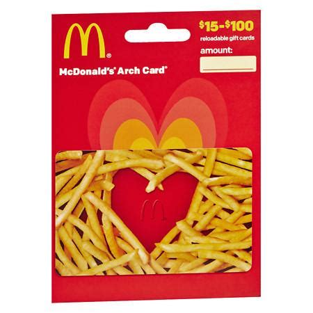 How Much On My Gift Card - how much is on my mcdonalds gift card photo 1 gift cards