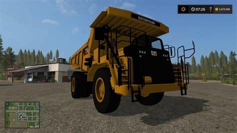 Topi Trucker G1 Ls cat 773g mod for farming simulator 2017 cat