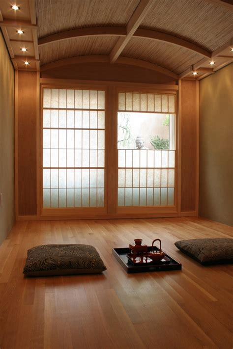 japanese minimalist living shoji doors japanese style in the interior of the home