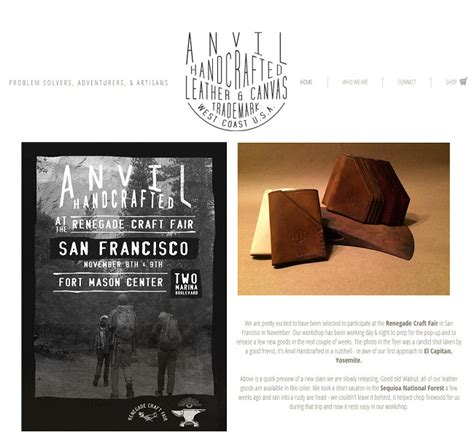 Handmade Selling Websites - beautiful websites that sell handmade goods
