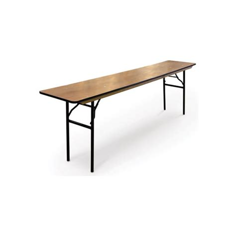 Wood Folding Dining Table Seminar 18 Quot Wood Dining Table Folding Banquet Egpres