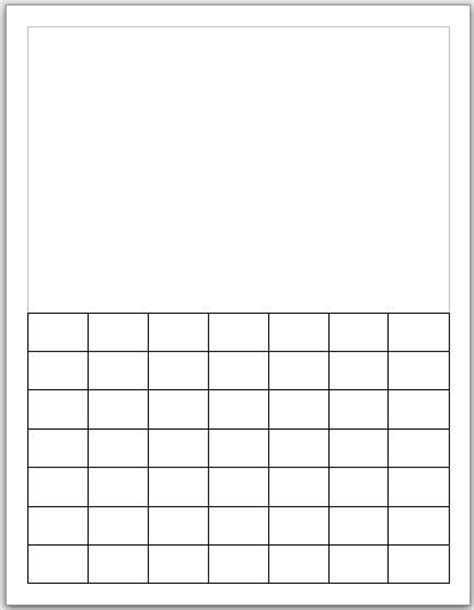 make your own calendar weekly calendar template