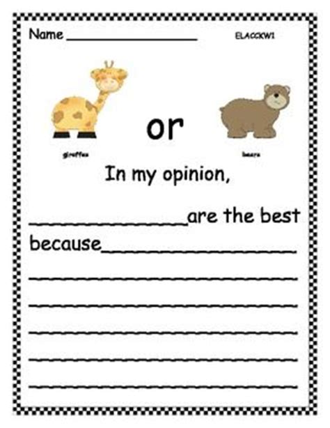 zoo writing paper zoo animals opinion writing teaching homework and
