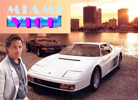 Miami Vice Auto by The Miami Vice Testarossa For Sale Exportcar