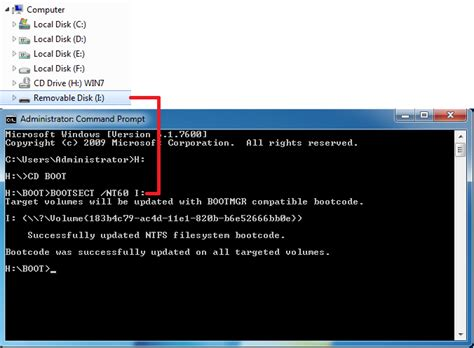 membuat usb boot di linux membuat bootable flashdisk windows 7 tanpa software