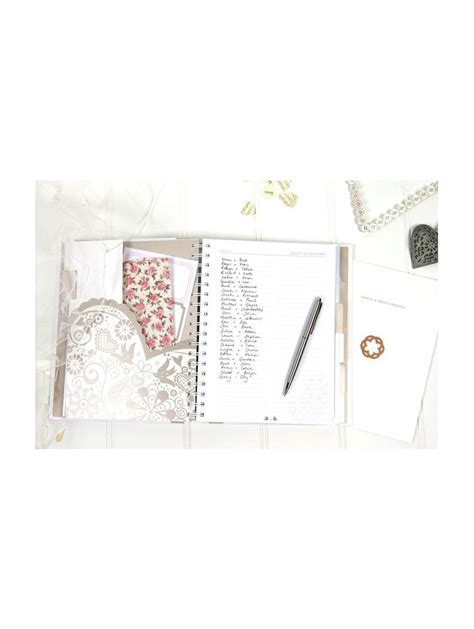 K Two 1640 Wedding Planner with Pockets Perfect Gift for