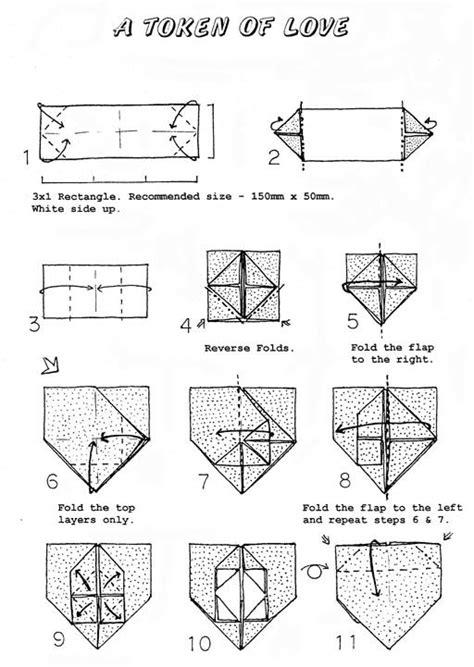 Dollar Origami Diagrams - dollar bill bookmark crafts