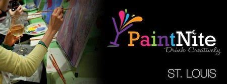 paint nite stl expanding palette and palate paint nite st louis