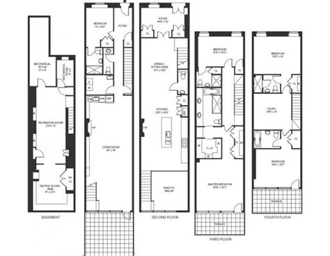 townhouse plans for sale 8 25 million 4 story townhouse in new york ny homes of