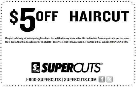 hair dye coupons 9 coupons discounts december 2015 supercuts coupon 2013 save 5 off any haircut spend