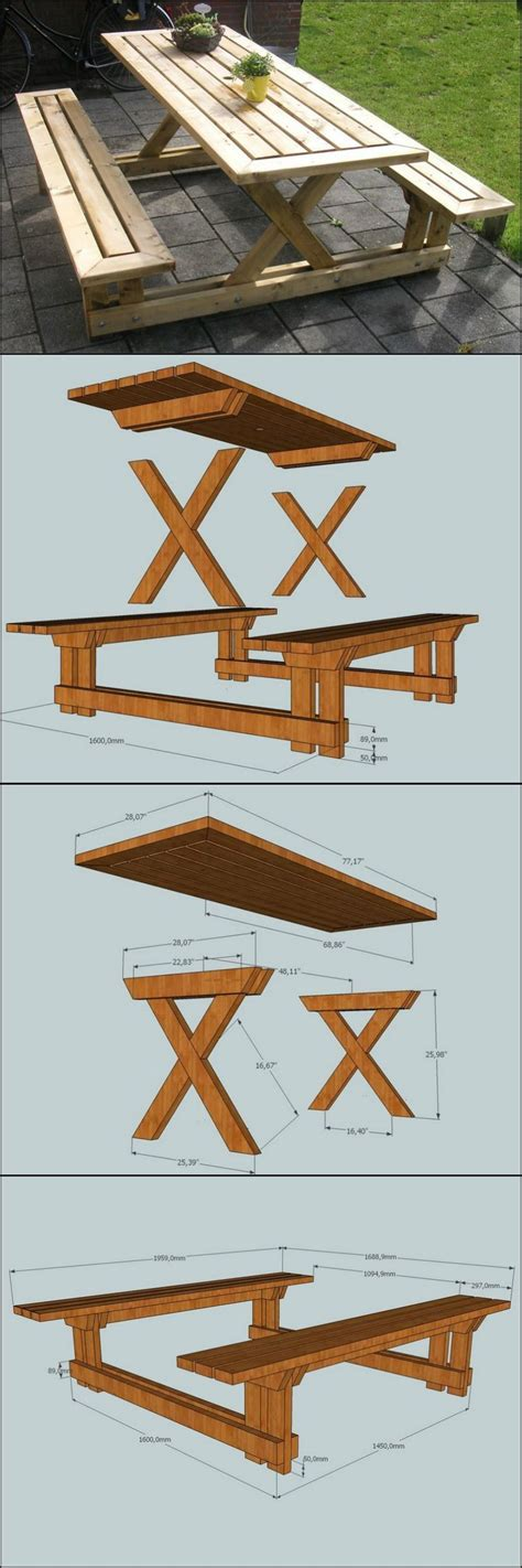 make your own picnic bench learn how to build your own backyard picnic table http