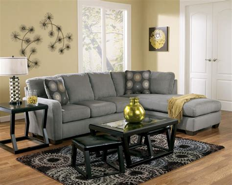 ashley zella charcoal 2 piece sectional ashley signature design zella charcoal contemporary