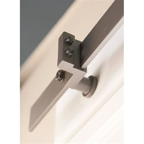 Stainless Barn Door Hardware Winsoon 8 16ft Sliding Barn Door Hardware Stainless Track Kit Bent