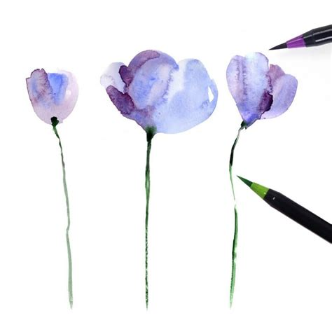 Watercolor Brush Pen Set watercolor brush pen sets
