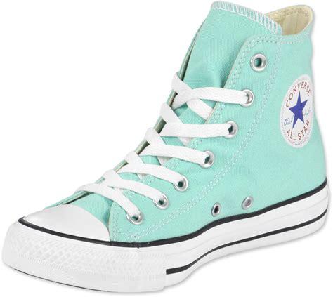 Coverse Hi converse all hi shoes green