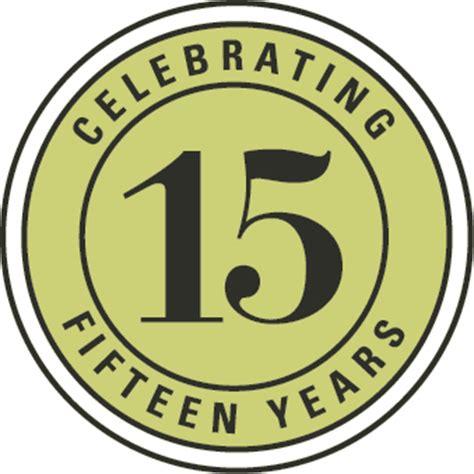15 years in years company history
