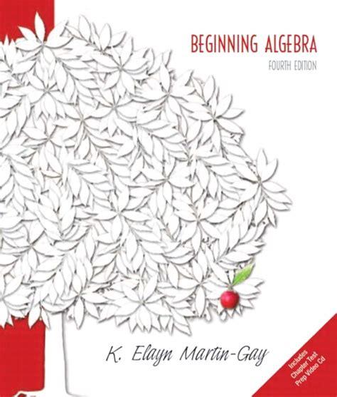Beginning Algebra martin beginning algebra pearson