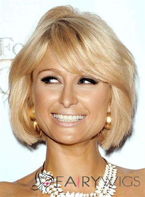 cheap haircuts paris paris hilton hairstyle short wavy capless human hair bob