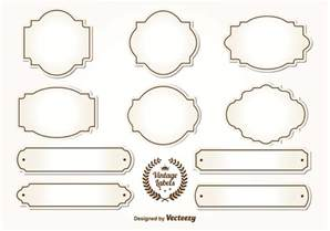 Antique Labels Template by Vintage Label Free Vector 14588 Free Downloads