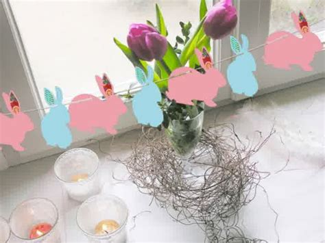 easter decorations to make for the home diy bunny easter decorations