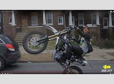 Popular dirt bike rider hurt in Northwest Baltimore drive ... M 2300 S