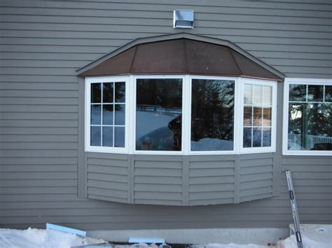 installing a bow window bay window roof images frompo