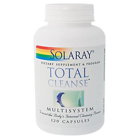 Detox Pills Vitamin Shoppe by Total Cleanse Colon 120 Capsules By Solaray At The