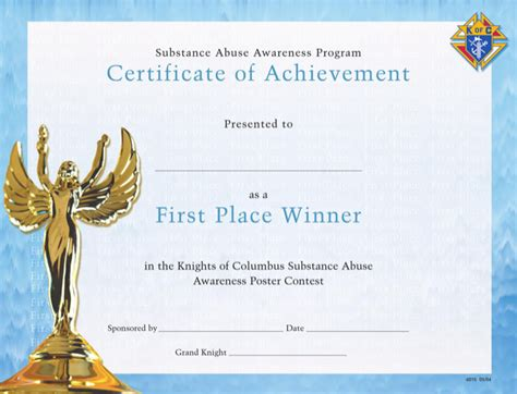 winner certificate templates download free premium