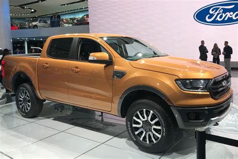 ranger ford 2018 facelifted 2018 ford ranger up revealed auto
