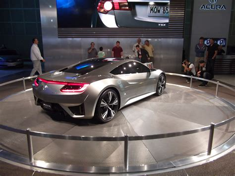 2013 acura honda nsx future electric vehicle