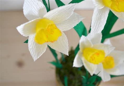fiori narciso come fare i fiori di narciso di carta tutorial la figurina