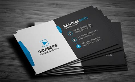 Free Business Card Template Psd 300 best free business card psd and vector templates