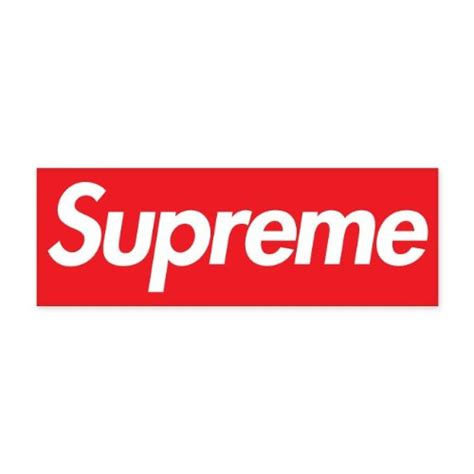 supreme stickers supreme clothing logo car vinyl sticker decal 6 quot x 2