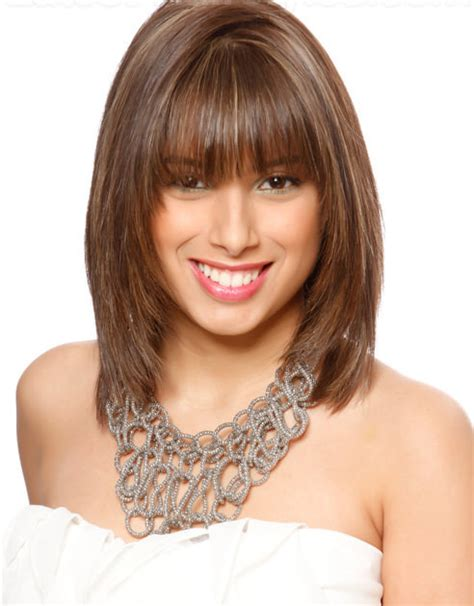 shoulder length haircuts with bangs 10 medium haircuts for women learn haircuts