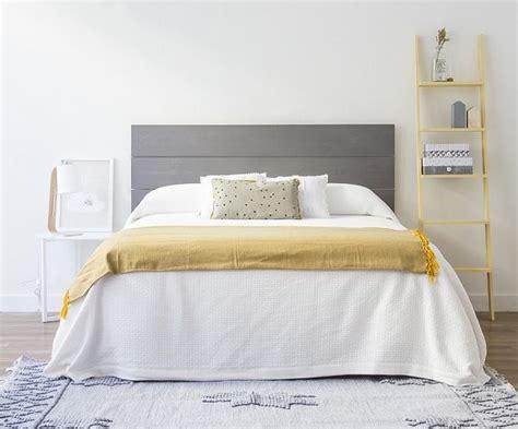 cabeceros de madera  la cama decoracion de interiores  exteriores estiloydeco