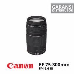 Canon Ef 75 300mm F 4 5 6 Iii jual lensa canon ef 75 300mm f 4 5 6 iii harga murah