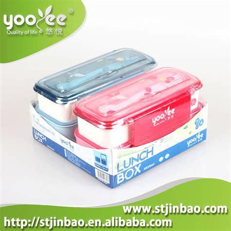 Set Sendok Plastik Dengan 6 Sendok kotak makan siang anak anak plastik set dengan sendok