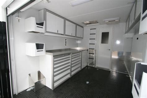 lightweight cabinets for rv photos of trailer vehicle lightweight aluminum cabinets