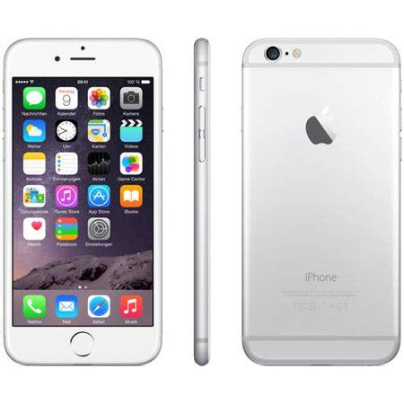 iphone 6 walmart certified pre owned apple iphone 6 smartphone unlocked walmart