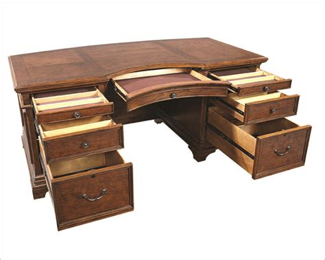 Aspen Home Executive Desk aspenhome curved executive desk hawthorne asi26 300tb