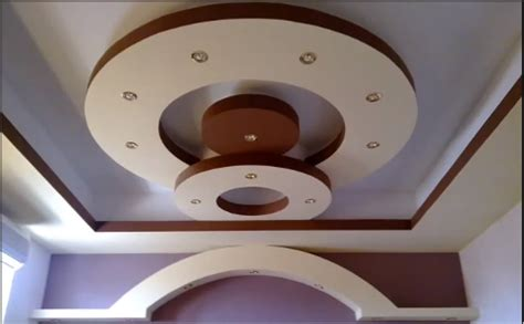 Home Made Room Decorations by 3 Gypsum False Ceiling Designs