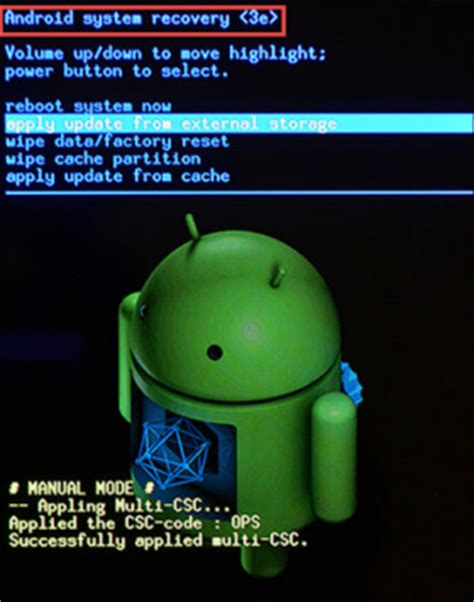 """[solved]  """"android system recovery """" error on android"""