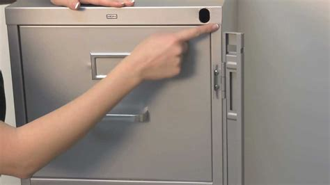 how to unlock a file cabinet without a key how to open a locked hon file cabinet without key savae org