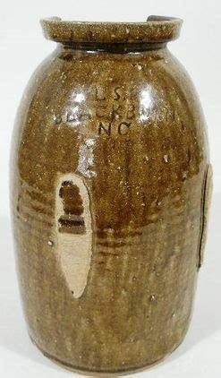 jar ls pottery ritchie ls storage jar alkaline glaze 12 inch