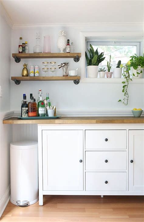 diy ikea ikea hacks diy bar cabinet kitchenette shrimp salad