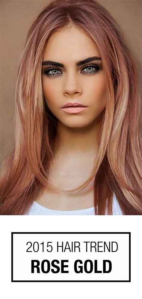 i would love to have this hair color beauty rose gold hair color this hair color trend isn t just for