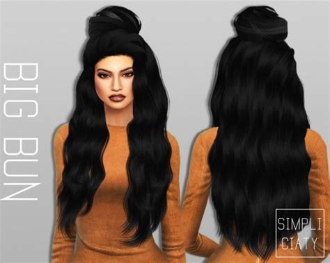 my sims 4 blog half back accessory hair bow by 145 best images about sims 4 cc on pinterest nursery
